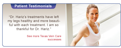 Texas Vein Care testimonials